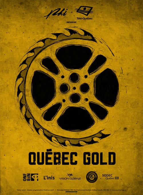 affiche Québec Gold