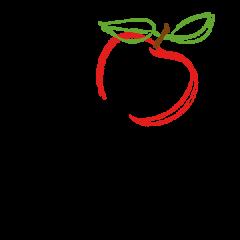 logo qui sème récolte pomme