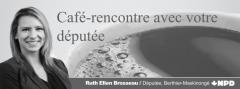 Café-rencontre Ruth Ellen Brosseau