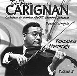 Jean Carignan Vol 2: Fantaisie - Hommage (1997)