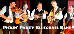 Pickin Party Bluegrass Band 2015