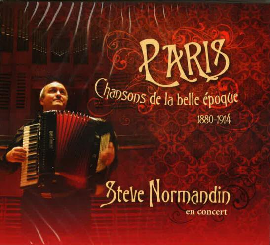 Steve Normandin en concert: Paris chansons de la belle époque 1880-1914